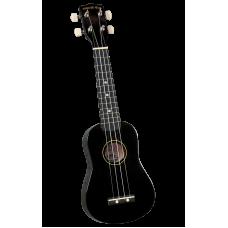 Diamond Head DU-100 BK Укулеле сопрано с чехлом, цвет черный