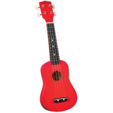 Diamond Head DU-102 RD Укулеле сопрано с чехлом, цвет красный