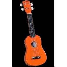 Diamond Head DU-103 OR Укулеле сопрано с чехлом, цвет оранжевый