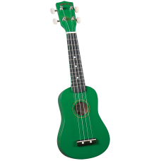Diamond Head DU-105 GN Укулеле сопрано с чехлом, цвет зеленый