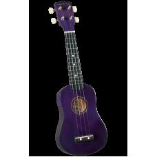Diamond Head DU-108 PP Укулеле сопрано с чехлом, цвет фиолетовый