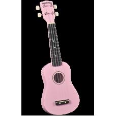 Diamond Head DU-110 PK Укулеле сопрано с чехлом, цвет розовый