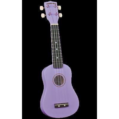 Diamond Head DU-118 VLT Укулеле сопрано с чехлом, цвет фиолетовый