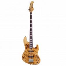 Mayones Jabba 4 Custom T-NAT-S Бас-гитара 4-струнная с кейсом