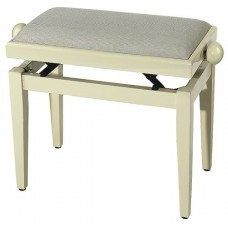 Gewa FX Piano bench Ivory Highgloss Beige Seat Банкетка для фортепиано