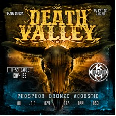 Kerly KDV-1153 Death Valley Phosphor Bronze Tempered Струны для акустической гитары