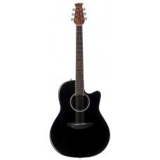 Applause AB24IIA-5 Mid Cutaway Black Гитара акустическая
