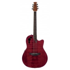 Applause AE44II-RR Mid Cutaway Ruby Red Гитара электроакустическая