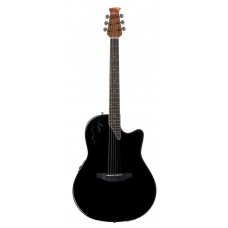 Applause AE44II-5 Mid Cutaway Black Гитара электроакустическая
