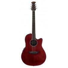 Ovation CS24-RR Celebrity Standard Mid Cutaway Ruby Red Гитара электроакустическая