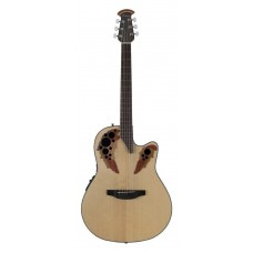 Ovation CE44-4 Celebrity Elite Mid Cutaway Natural Гитара электроакустическая