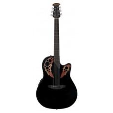 Ovation CE44-5 Celebrity Elite Mid Cutaway Black Гитара электроакустическая