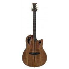 Ovation CE44P-FKOA Celebrity Elite Plus Mid Cutaway Natural Figured Koa Гитара электроакустическая