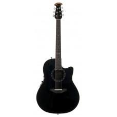 Ovation 2771AX-5 Standard Balladeer Deep Contour Cutaway Black Гитара электроакустическая