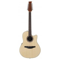 Applause AB2412II-4 Balladeer Mid Depth Cutaway Natural Гитара 12-струнная электроакустическая