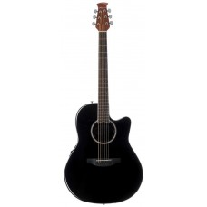 Applause AB24II-5 Balladeer Mid Depth Cutaway Black Гитара электроакустическая