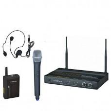 Opus UHF-922HQ Радиосистема 1 ручной микрофон + 1 головной микрофон