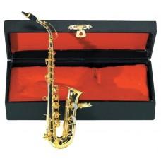 Gewa Miniature Instrument Alt-Saxophone Cувенир альт-саксофон с футляром