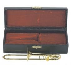 Gewa Miniature Instrument Trombone Сувенир тромбон с футляром