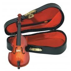 Gewa Miniature Instrument Bass Сувенир контрабас с футляром и смычком