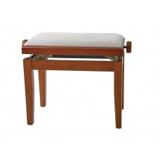 Gewa Piano bench Deluxe Cherry tree matt Beige cover Банкетка для фортепиано