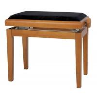 GEWA Piano bench Deluxe oak mat Банкетка для фортепиано