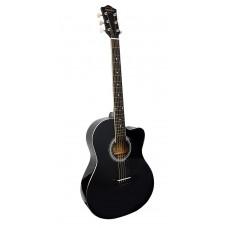 Adams CAG-580 BK Гитара акустическая фолк