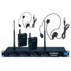 Opus UHF-804HS Радиосистема 4 головных микрофона