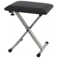 Gewa Keyboard bench Silver-Grey Стул для синтезатора