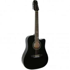 Madeira HW-812 BK Гитара двенадцатиструнная акустическая