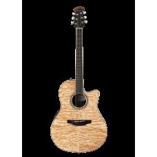 Ovation CS24P-4Q Celebrity Standard/Balladeer Plus Mid Depth Natural Quilt Гитара электроакустическая