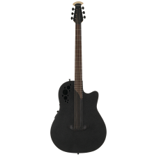 Ovation DS778TX-5 Elite TX Mid Depth D-Scale Black Гитара баритон электроакустическая