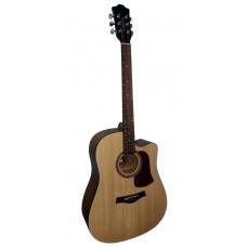 Livingstone WC-10 NA Гитара акустическая с вырезом (cutaway)