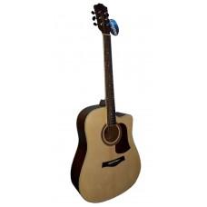 Livingstone WC-12 NA Гитара акустическая с вырезом (cutaway)