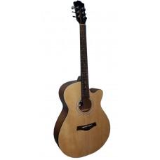 Livingstone WC-8 NA Гитара акустическая с вырезом (cutaway)
