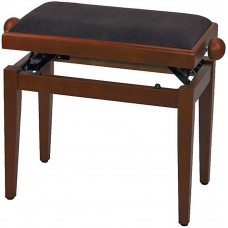 Gewa FX Piano bench De Luxe Cherry Matt Black Seat Банкетка для фортепиано