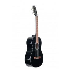 GEWA Classical Guitar Student Black 3/4  Гитара классическая